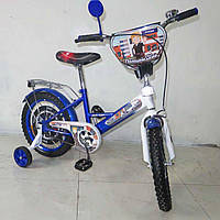 """Двухколесный детский велосипед TILLY Поліцейський 16"""" T-216211 blue + white"""