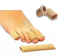 Силиконовая трубка, чехол (напальчник) для пальцев ног, размер (M), 1 шт.