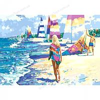 """Раскраски по номерам """"На Мальдивах"""""""