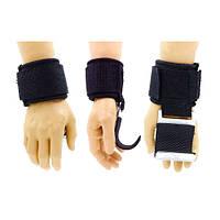 Крюк-ремни атлетические для уменьшения нагрузки на пальцы 2 шт AS4001