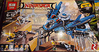 Конструктор Lepin 06050 Ninjago Movie Ниндзяго Муви Самолёт-молния Джея 937 дет