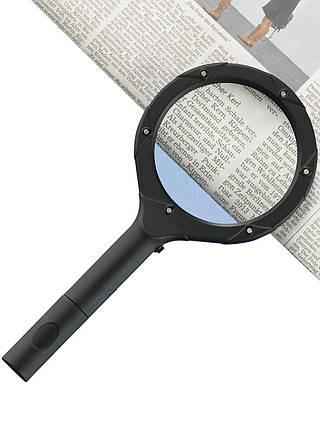 Лупа с подсветкой magnifying glass 12 Led, фото 2
