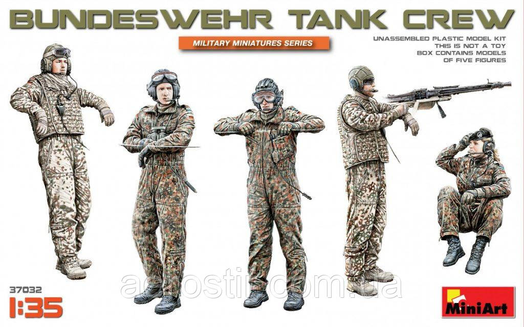 Танковий екіпаж Бундесверу 1/35 MiniART 37032