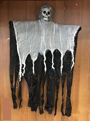 Декорации к празднику Хэллоуин Halloween подвеска скелет призрак 80*55 см, фото 2