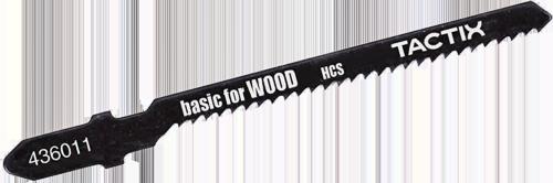 Пилка для дерева 82мм Т119ВO кривол TACTIX