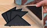 Уголки-липучки, держатель для ковров Ruggies, 4 резиновых уголка и 4 бумажных уголка., фото 3
