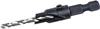 Сверло для дерева зенк. 2,8мм 6-гр.кін. TC