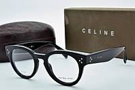 Круглая женская оправа Celine  черная