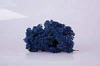 Стабилизированный мох azur blue 250 грамм/упаковка
