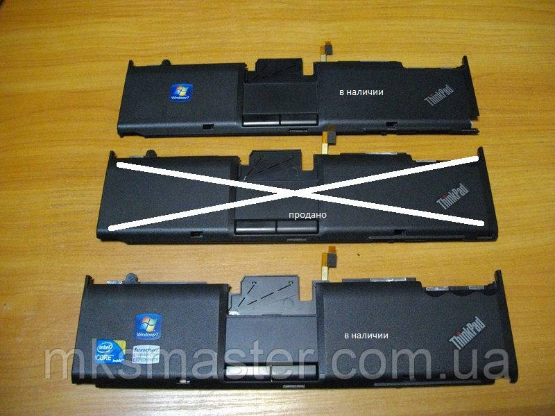Верхняя панель с тачпадом  Корпус от ноутбука Lenovo ThinkPad X201i
