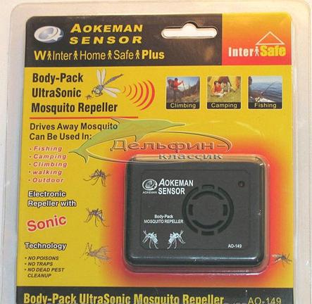 Отпугиватель от комаров AO 149 на батарейках, фото 2