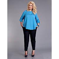 1150 1150 Женственная лёгкая блуза из креп-шифона, фото 1