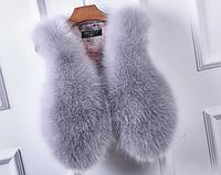 Женская меховая жилетка. Модель 61700, фото 6