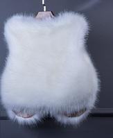 Женская меховая жилетка. Модель 61700, фото 3