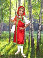 Матрешка, Машенька. 110-116 см. Детские карнавальные костюмы