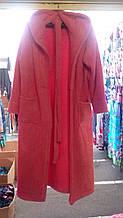 Женский махровый халат 42-52р цвета в ассортименте (СКЛАД-1шт розовый р52 . 1шт голубой р М)