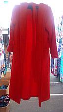 Женский махровый халат 42-52р цвета в ассортименте, фото 2