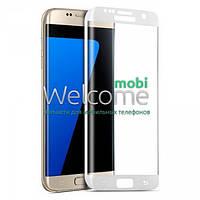 Защитное стекло Samsung G925 Galaxy S6 Edge (0.3 мм, 3D, с олеофобным покрытием) white