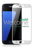 Защитное стекло Samsung G930 Galaxy S7 (0.3 мм, 3D, с олеофобным покрытием) white