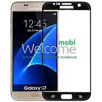 Защитное стекло Samsung G930 Galaxy S7 (0.3 мм, 3D, с олеофобным покрытием) black
