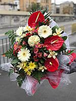 """Изысканный букет цветов """"Сапфир"""""""
