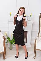 Черное платье с бантиком, фото 1
