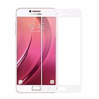Защитное стекло Full screen Samsung J510 (J5-2016) (White), фото 1