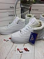 Женские высокие кроссовки на меху Reebok