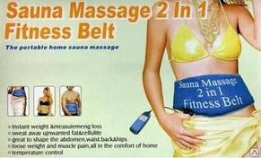 Пояс Сауна массажер 2 в 1 фитнес белт Sauna Massage 2 in 1 Fitness Bel, фото 3