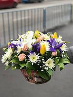 Красивые корзинки с цветами