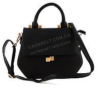 Компактная стильная женская каркасная оригинальная сумочка BURGELOUIE art. 332-2 черная