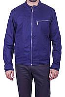 Куртка мужская хлопковая синяя XL