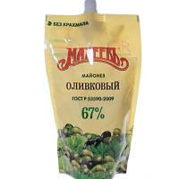 Майонез Махеевь оливковий 67% 400г