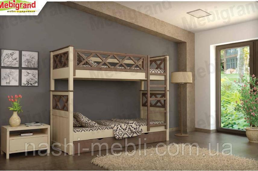 Двоярусне ліжко Мальта МГ.