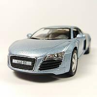Автомобиль металлический Audi R8 KINSMART Синий
