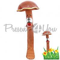 Фигура декор для сада «Гриб коричневый» h-36 см.