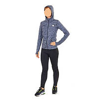 Толстовка женская быстросохнущая для йоги, зала и бега VSX CO-6478-GR