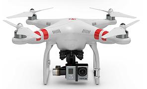 Квадрокоптер DJI Phantom 2 с подвесом H3-3D / H4-3D (стабилизатором) (V2.0 новая версия от 12/14)