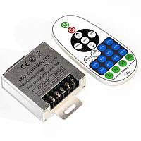 Диммер для светодиодной ленты 432Вт 36А Радио 23 белый кнопочный