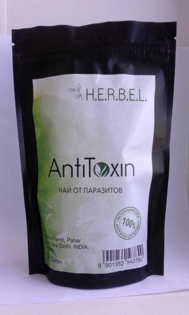 Herbel AntiToxin - чай от паразитов (Хербел Антитоксин), 50 гр пакет