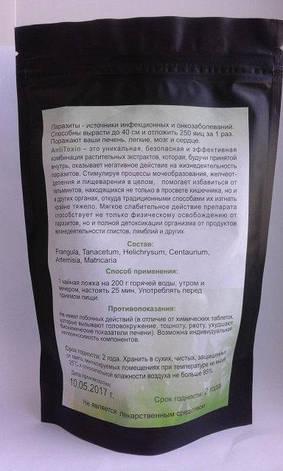 Herbel AntiToxin - чай от паразитов (Хербел Антитоксин), 50 гр пакет, фото 2