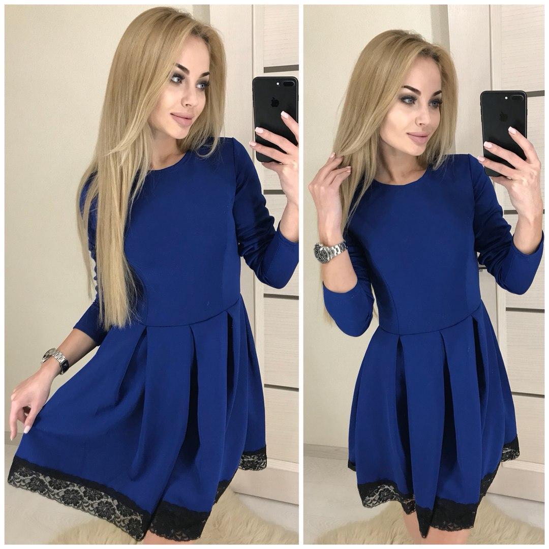 1678d46b784 Платье-клеш короткое с кружевом ЭЛЕКТРИК СКЛАД - Мелочи жизни в Одесской  области