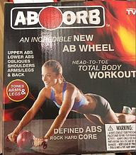 Тренажер ролик для пресса New AB Wheel ABOORB код 1987 АКБ