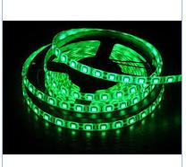 Светодиодная лента 5050 G цвет зеленый