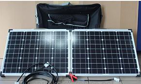 Зарядное Солнечная панель Solar board  2F 120W 18V  670*540*35*35 FOLD, фото 2