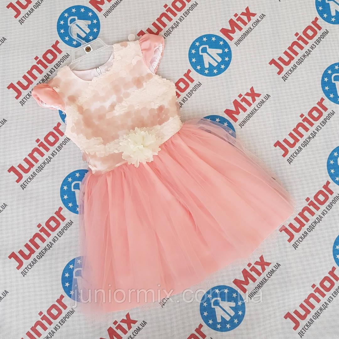 Нарядное пышное детское платье для девочек оптом DEVA. ПОЛЬША