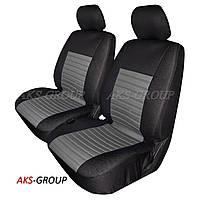 Авточехлы с подогревом Milex Tango на передние сидения черно-серые