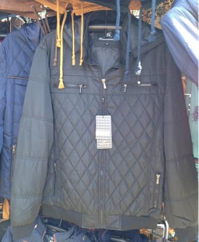 Повседневная мужская куртка плащевка, фото 2