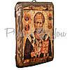 Деревянная икона Святой Николай Чудотворец, 17х13 см (814-1010), фото 2