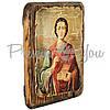 Деревянная икона Целитель Пантелеймон , 17х13 см (814-1012), фото 2